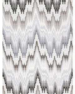 Scalamandre Bargello Fabric in Graphite Gray