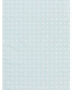 Scalamandre Tile Weave Chinois Chic Fabric in Lagoon Blue
