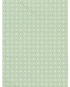 Scalamandre Tile Weave Chinois Chic Fabric in Jade Green