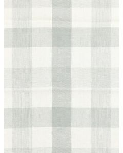 Scalamandre Westport Linen Plaid Fabric in Mineral Gray
