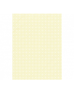 Scalamandre Tile Weave Chinois Chic Fabric in Canary Yellow