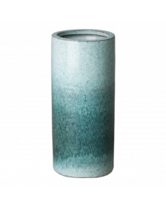 Umbrella Stand with Coastal Splash Glaze - CALL TO CONFIRM AVAILABILITY