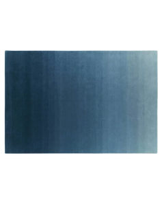 Azure Blue, Celadon, and Aqua Ombre Shaded Modern 100% Wool Hand Tufted Area Rug - Variety of Sizes Available