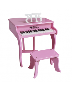 Schoenhut 30-Key Fancy Baby Grand Piano For Kids in Pink - ON BACKORDER UNTIL JULY 2020