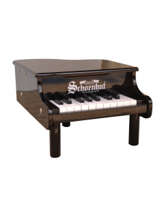 Schoenhut 18-Key Mini Baby Grand Piano for Kids in Black - ON BACKORDER UNTIL SEPTEMBER 2021
