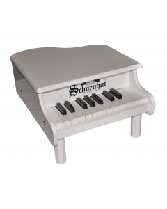 Schoenhut 18-Key Mini Baby Grand Piano for Kids in White - ON BACKORDER UNTIL END OF OCTOBER 2020
