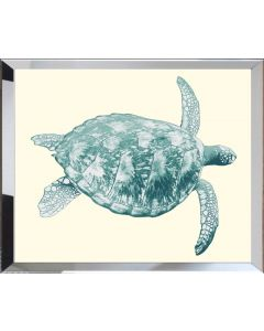 Seaturtle Framed Wall Art-Available in a Variety of Sizes