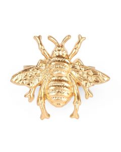 Set of 12 Regency Bee Napkin Rings in Gold - ON BACKORDER UNTIL JANUARY 2021