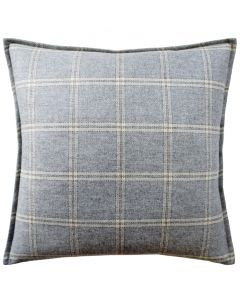 Shingle Merino Wool Plaid Decorative Throw Pillow