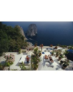 Slim Aarons 'Il Canille' Print by Getty Images Gallery - Variety of Sizes Available
