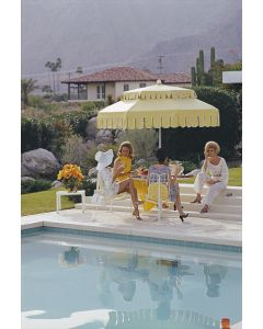 Slim  Aarons 'Nelda And Friends'  Print by Getty Images Gallery - Variety of Sizes Available