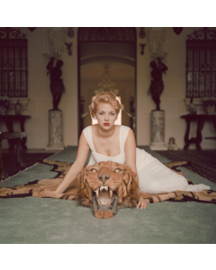 Slim Aarons 'Beauty and the Beast' Print by Getty Images Gallery - Variety of Sizes Available