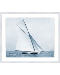 Soft Blue Sails 2 Framed Wall Art