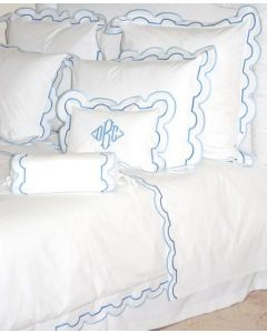 Sorento Scalloped Bedding Collection