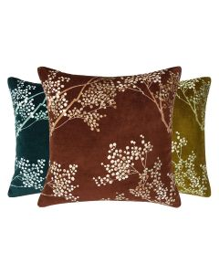 Branches and Leaves Decorative Pillow - Available in Three Colors