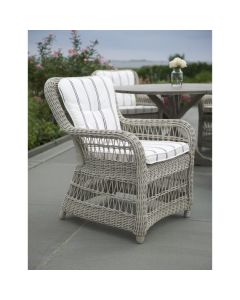 Kingsley Bate Set of Two Southampton Wicker Dining Armchair-Available in Four Different Colors