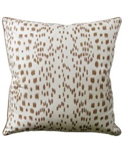 Speckled Les Touches Decorative Throw Cotton Pillow in Tan - Available in Different Sizes