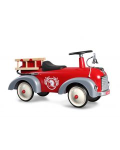 Speedster Fireman Red Ride On Fire Truck for Kids
