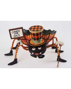 Spider Candy Dish Decoration