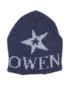 Metallic Star on Star Hat - Regular or with Earflap