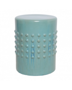 Studded Garden Seat in Turquoise