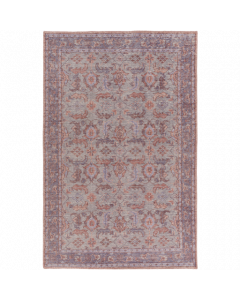 Zahra Rug in Blush Pink, Rose, Purple, Gray, & Eggplant - Variety of Sizes Available