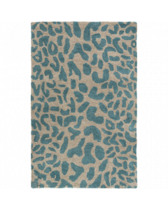 Athena Rug in Dark Green and Camel - Available in a Variety of Sizes