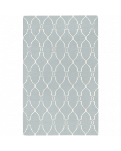 Fallon Rug in Blue and Beige - Available in a Variety of Sizes