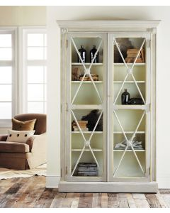 Modern History Swedish Two-Door Bookcase