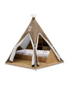 Teepee Room Inspired Luxury Bed for Kids
