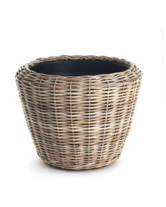 Thick Rattan Dry Woven Basket Planter - ON BACKORDER UNTIL LATE JUNE 2021