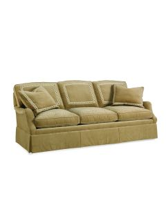 Three Seat Cushion Upholstered Sofa
