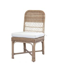 Tisbury Classic Wicker Dining Chair - Available in Variety of Finishes
