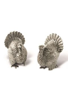 Vagabond House Turkey Salt & Pepper Set