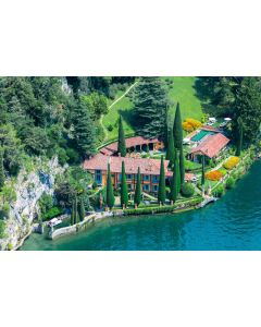 Villa La Cassinella, Lake Como Print by Gray Malin
