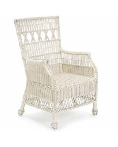 Vineyard's Arbor Wicker Chair - Available in a Variety Colors