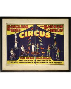 Vintage Circus Children's Wall Art - Available in Three Different Sizes
