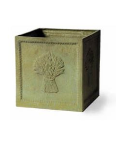 Wheatsheaf Garden Planter in a Bronzage Finish - Available in Two Different Sizes