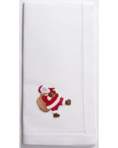 Set of 4 Christmas Santa Dinner Napkins