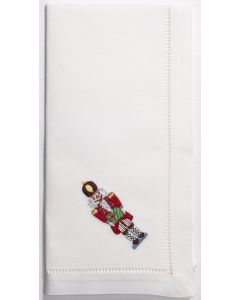 Set of 4 Christmas Nutcracker Dinner Napkins