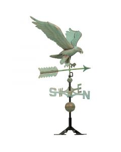 Whitehall Products Verdigris Copper Eagle Weathervane