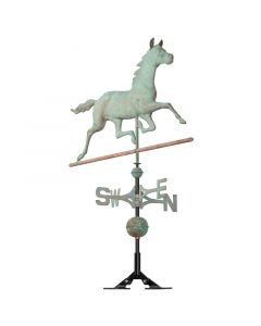 Whitehall Products Verdigris Copper Horse Weathervane