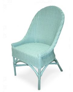 Wicker Coastal Side Chair - Available in a Variety of Finishes
