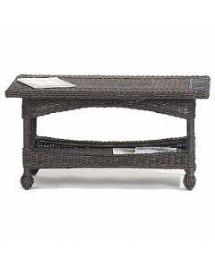 Wicker Coffee Table - Available in a Variety Colors
