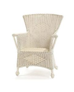 Wicker Cottage Chair - Available in a Variety Finishes