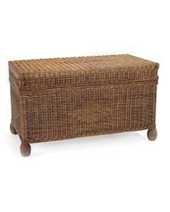 Wicker Cottage Trunk - Available in a Variety of Colors