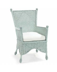 Wicker Porch Chair - Available in a Variety Colors
