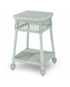 Wicker Side Table - Available in a Variety Colors