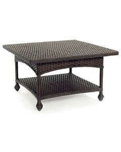 Wicker Square Cocktail Table - Available in a Variety Colors