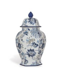 Williamsburg Collection Blue and White Medium Ginger Jar
